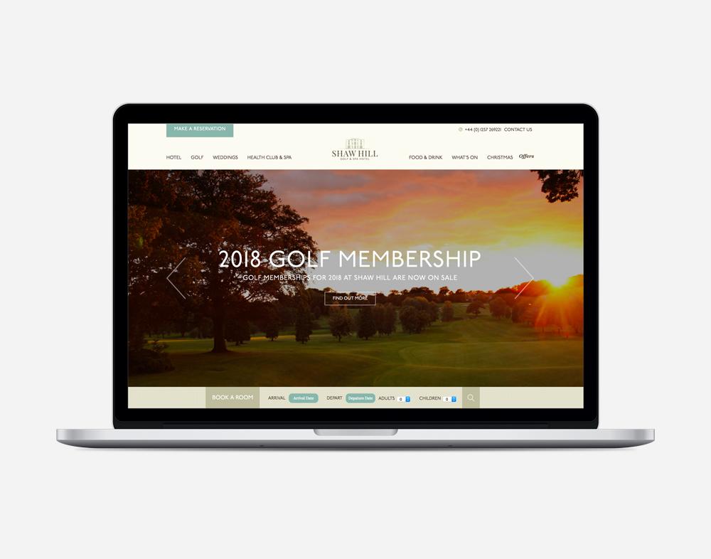 Shaw Hill Golf & Spa Hotel